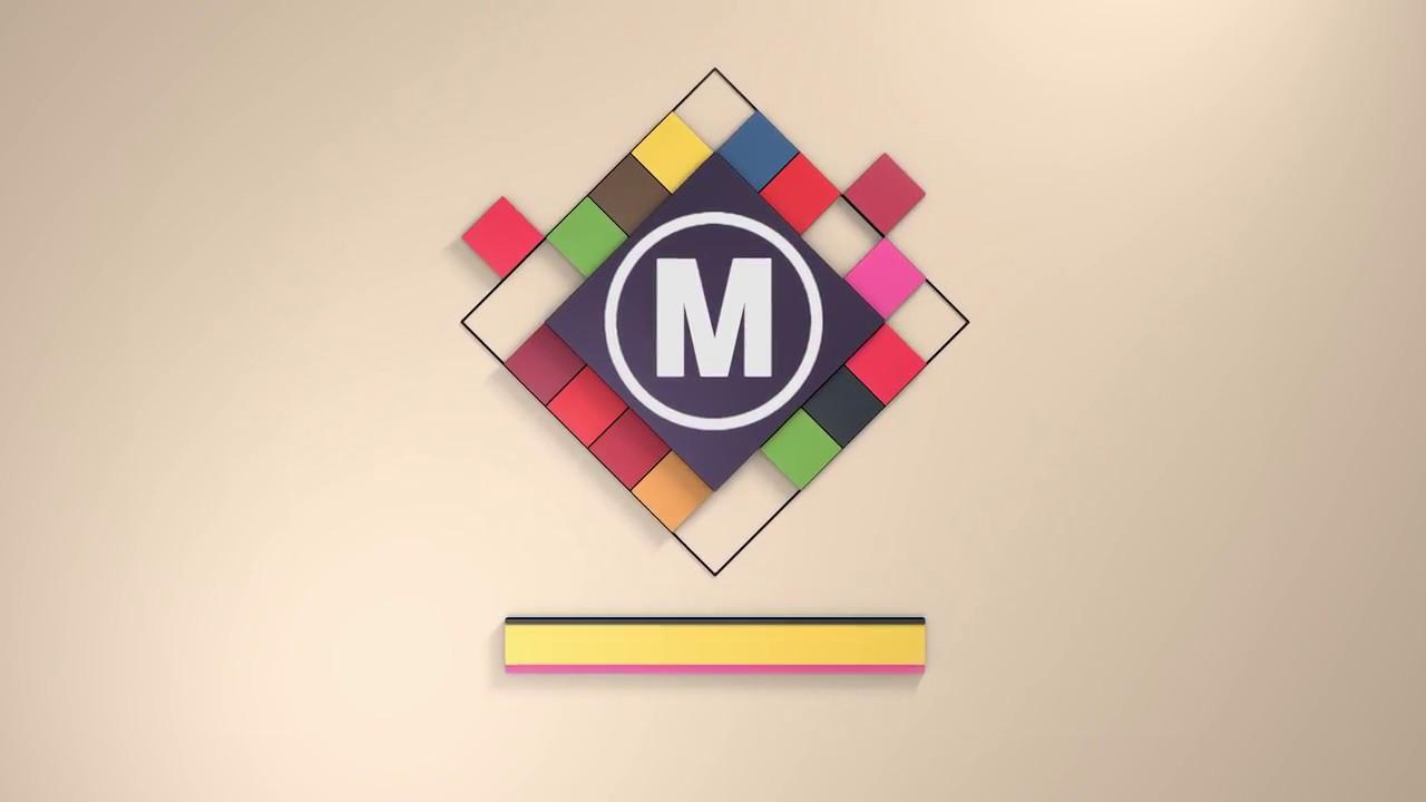 3d cubes logo after effects templates youtube. Black Bedroom Furniture Sets. Home Design Ideas