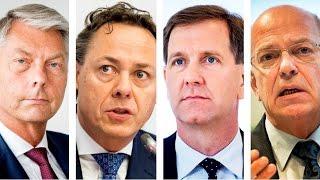 Interview topmannen van ABN AMRO, Rabobank, SNS en ING