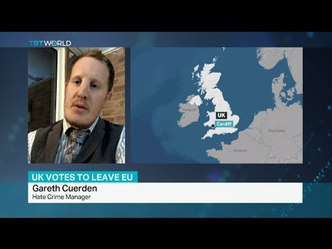 Interview with Hate Crime Manager Gareth Cuerden on racist incidents following EU referendum