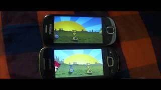 Samsung galaxy pop vs galaxy fit gaming