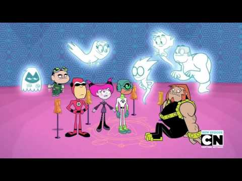 Teen Titans Go! Season 03 Episode 13 ' Scary Figure Dance ' Clip