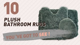 Plush Bathroom Rugs Collection // New & Popular 2017