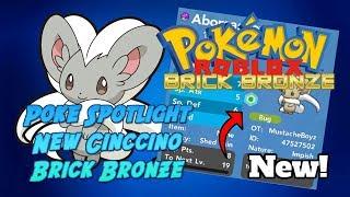 Spotlight Pokemon - EV Training Cinccino - Roblox - Pokemon Brick Bronze