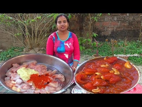 How To Make Butter Chicken | Bengali Style Recipe | Best Indian Village Food Preparation
