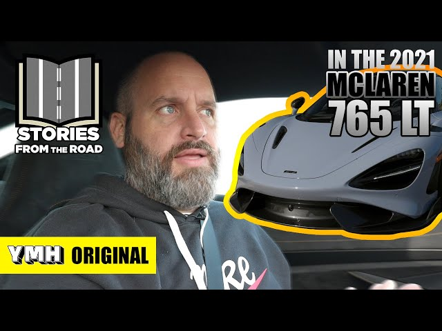 Gift Giving And The All New 2021 McLaren 765LT | Stories from the Road