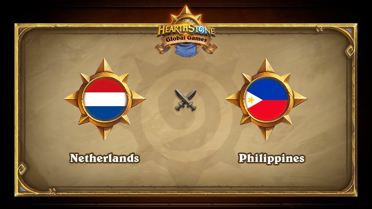 Нидерланды vs Филиппины, Hearthstone Global Games Phase 2