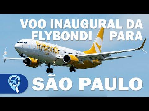 Como foi o voo inaugural da Flybondi de São Paulo para Buenos Aires