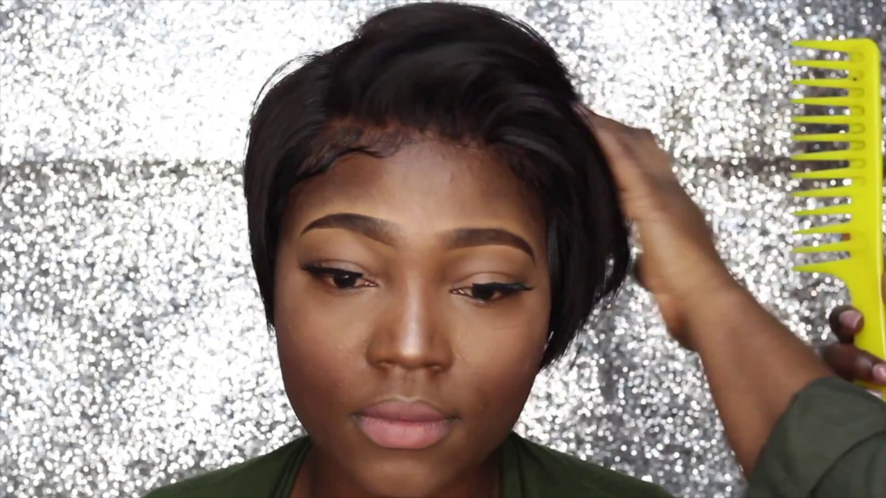 How To Do A Quick Weave Lace Front 27pc Short Cut