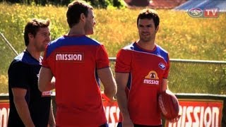 Cats To Kennel - Matthew Scarlett And Cameron Mooney's First Training As Dogs