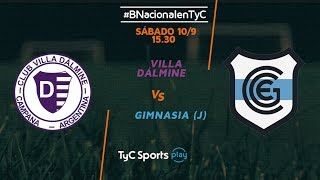 Villa Dálmine vs Gimnasia J full match