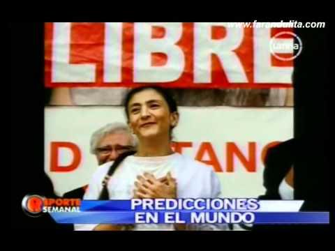 """Reporte Semanal - Reinaldo Dos Santos """"El Profeta de America"""" 2/4 [15-05-2011]"""