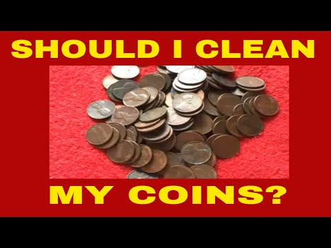 HOW TO CLEAN COINS AND HANDLE THEM? TIPS /TRICKS.COIN COLLECTING FOR BEGINNERS SERIES PT8