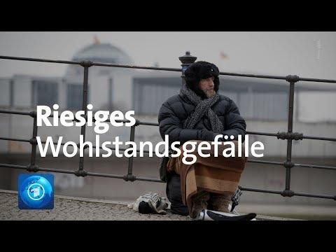 Studie: Große Einkommensunterschiede In Deutschland