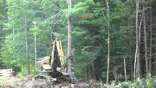 Big tree cutter machiine || wood cutting machine