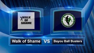 Walk of Shame vs BBB - Play In Round - Dallas Kickball Open #DKO2015