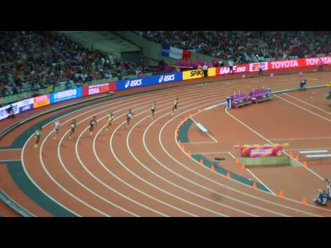 MARIE-JOSĒE TA LOU WINS 200M SEMI-FINAL LONDON IAAF 2017