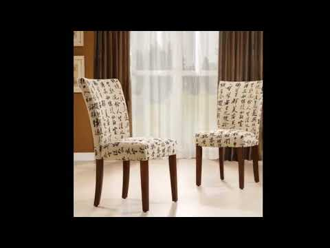 Parson Chair Free Slipcover Pattern Stylish Modern Interiors Design Decor