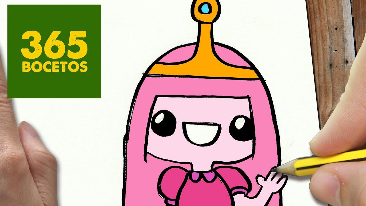 Como Dibujar Dulce Princesa Kawaii Paso A Paso Dibujos Kawaii