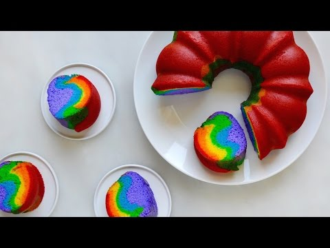 How To Make An Easy Rainbow Cake