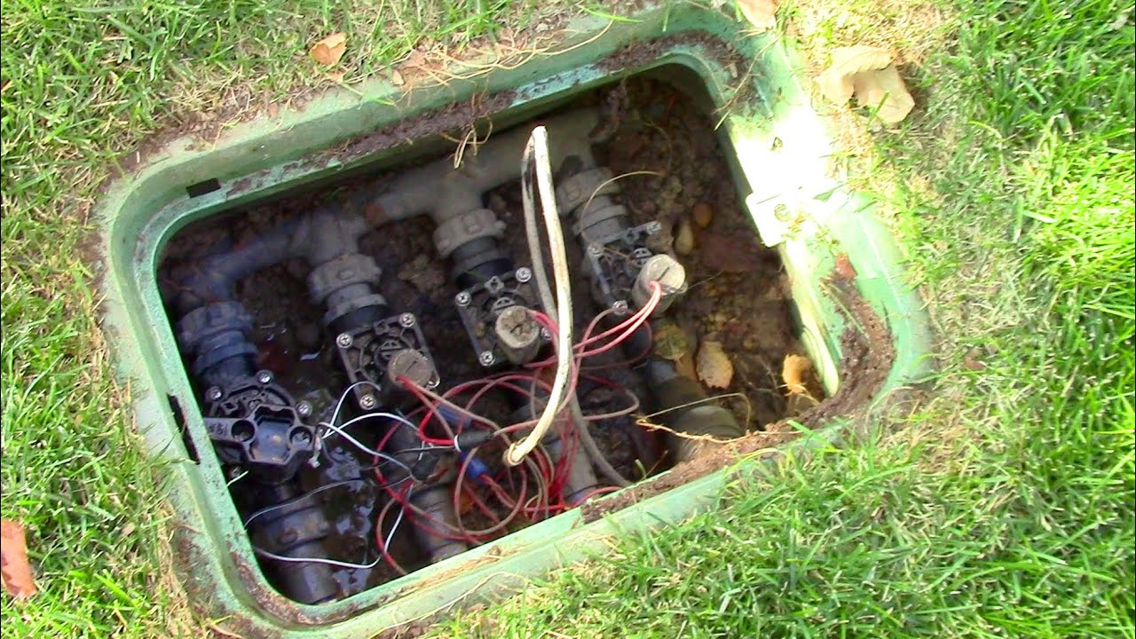 Installing A Controller For Lawn Sprinklers Irrigation Systems