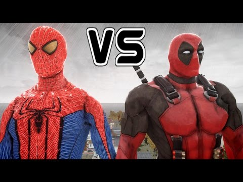 SPIDERMAN VS DEADPOOL - THE AMAZING SPIDER-MAN