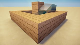 Minecraft 1.8.1 Tutorial - How To Make An AFK Pool