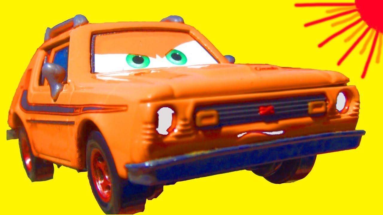 Disney Pixar Cars 2 GREM Diecast Car Collectible MATTEL Cars 2 Toys Lemons  vehicle Toy Review
