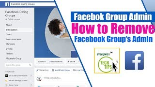 How to Remove Admin From Facebook Group | Facebook Group Admin Tutorial 2018/2019