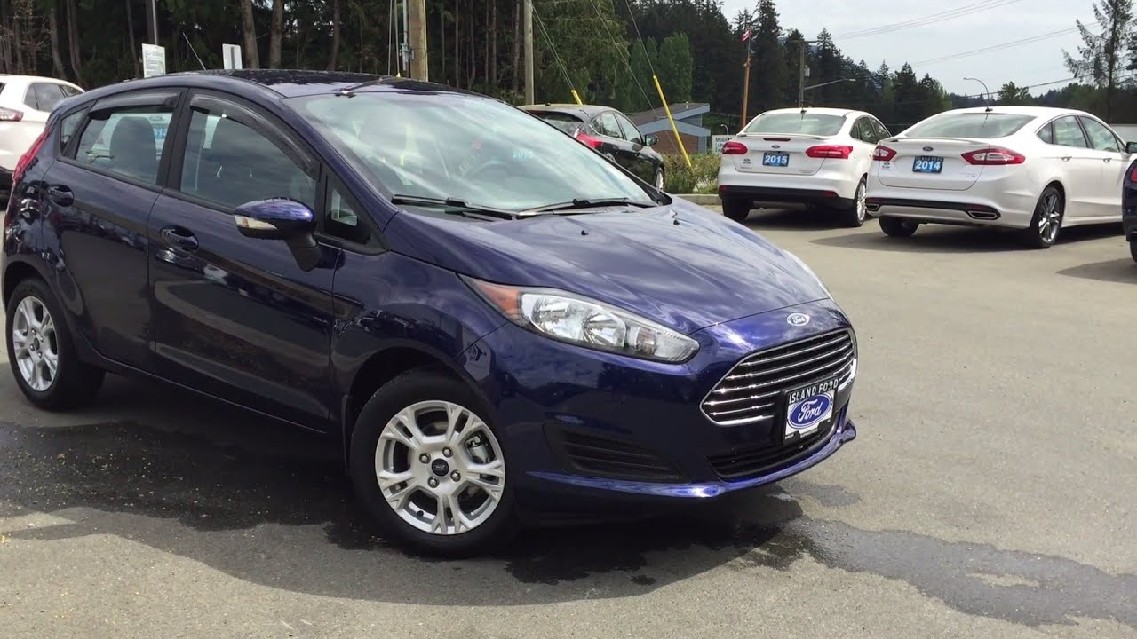 2016 Ford Fiesta Se Review Island