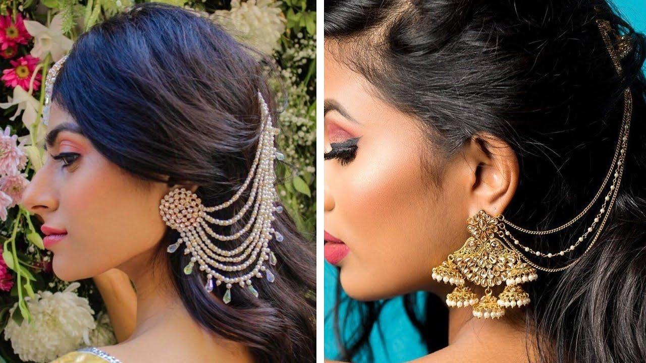 Jhumki Earrings with Saharey!