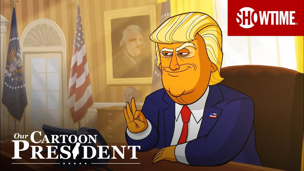 Our Cartoon President (2018) | Official Trailer | Stephen Colbert SHOWTIME Series