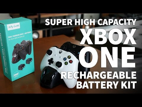 Jelly Comb Xbox One S Rechargeable Battery System – Play and Charge Kit Rechargeable Batteries