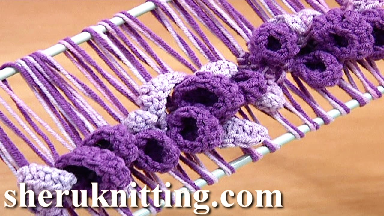 Hairpin Lace Crochet Spring Pattern Tutorial 37 Hairpin Crochet ...