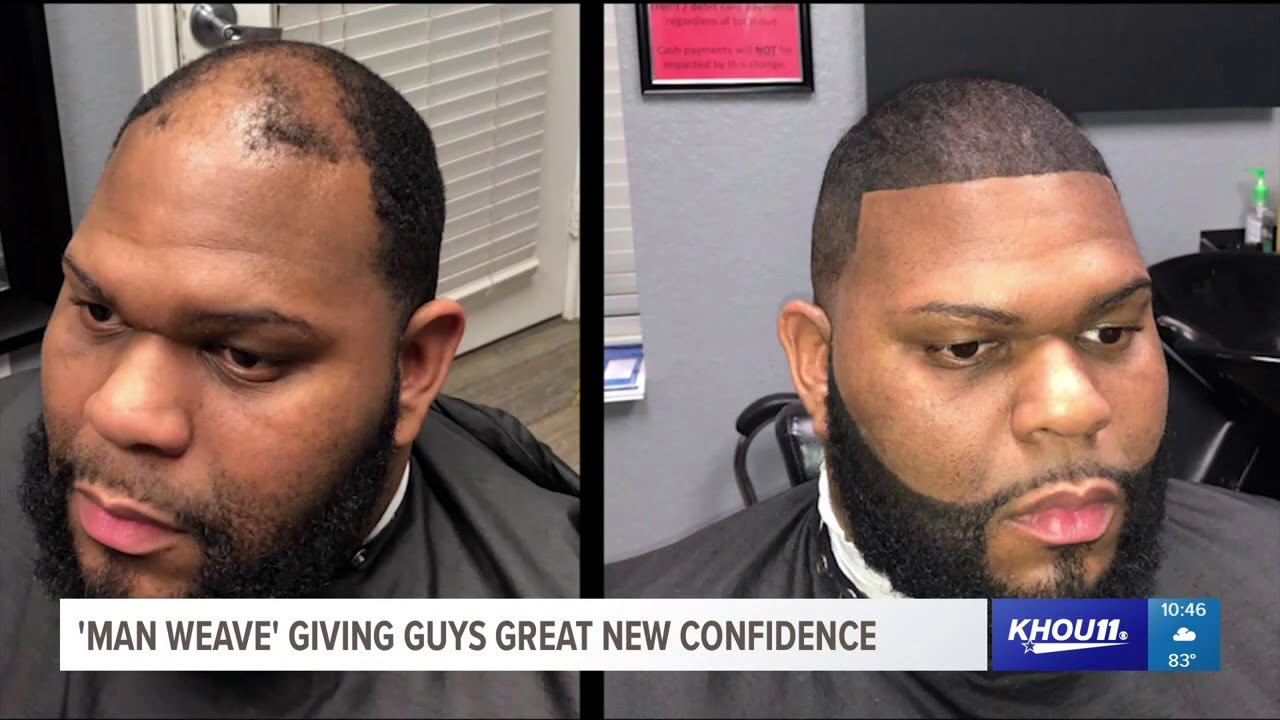 'Man Weave' giving guys great new confidence