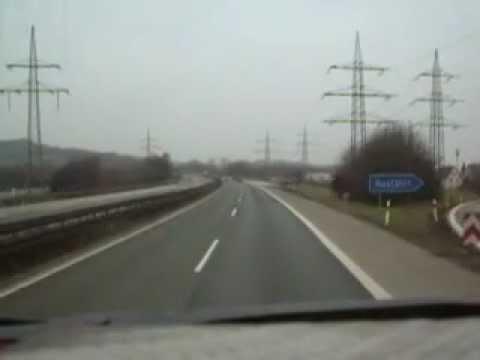 A46 Hemer-Iserlohn-Hagen Truck LKW fahrt auf der Autobahn