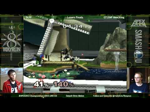 APEX 2013   SSBM LF   Dr PP VS CT EMP Mew2King