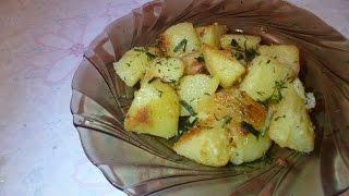 Картофель запеченный с горчицей. Очень вкусно!