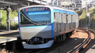 【相鉄】11000系発車シーン鶴ヶ峰にて