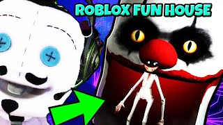 Roblox CAMPING PART 29! (Fun House) - IN SEARCH FOR DENIS