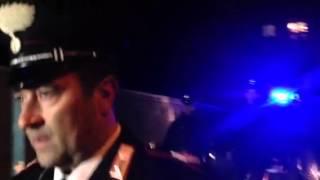 Femminicidio a Perugia, il marito omicida portato via dai carabinieri