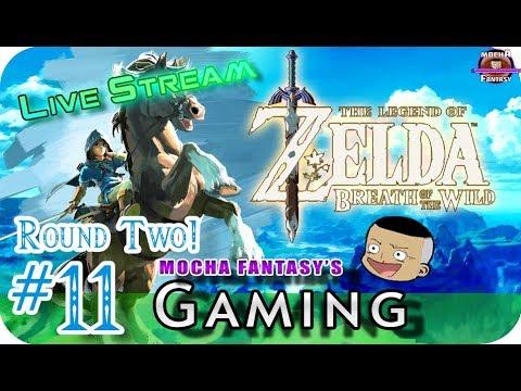 11.   Zelda: Breath of the Wild (Livestream) I've DEAD sick… LOL Wasteland