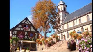 Saint-Hippolyte, au pied du Haut Koenigsbourg en Alsace