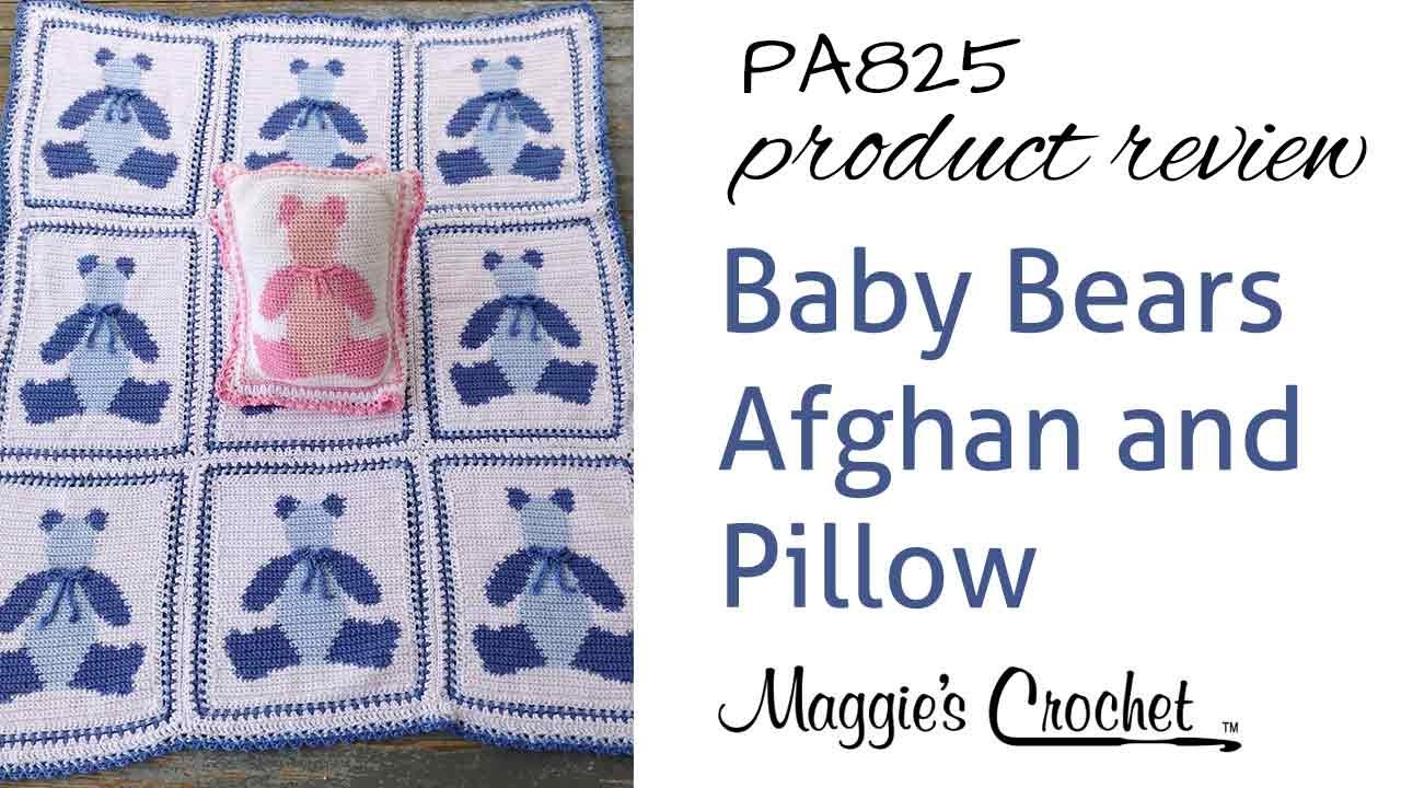 Baby bears afghan and pillow crochet pattern product review pa825 baby bears afghan and pillow crochet pattern product review pa825 bankloansurffo Images