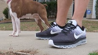 Nike Air Max 2017 Sneaker Review On Feet