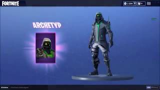 *NEW* Fortnite ARCHETYPE skin + BACKBLINGS | The funniest presentation