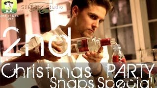 Annual Christmas party - How to make chilli Snaps - Danish Tradition 2ep