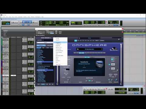 Spectrasonics Omnisphere 2.1 inside Pro Tools 12.1
