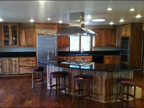 Hickory Cabinets With Granite Countertops Youtube