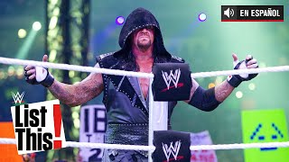 5 récords que The Undertaker posee: WWE List This! (ESPANOL)