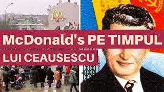Ceaușescu și McDonald's